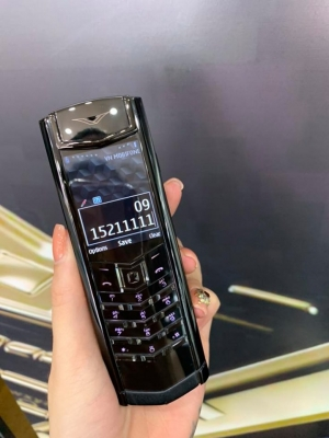 Vertu Signature Black DLC